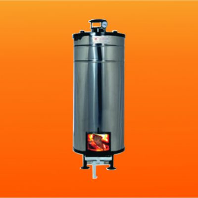 Wood Fired Storage Water Heater